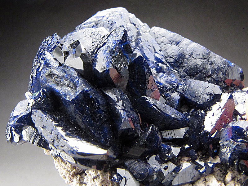 Azurite  Milpillas Mine Cuitata Municipio de Cananea Sonora Mexico For Sale